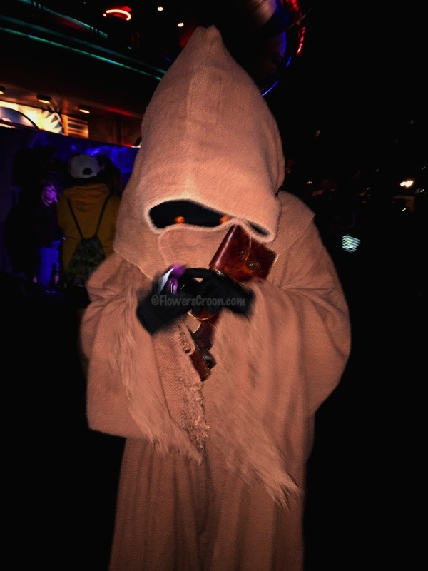 The Jawas wanted my iPhone and bangles