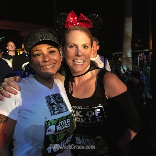 rundisney star wars 10k faith and jindy