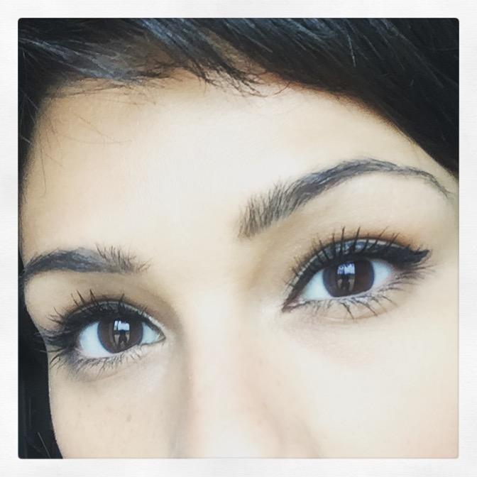 Wearing: Super Sizer Mascara & Intensify Me! Liquid Liner