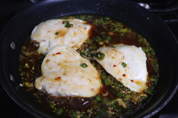 Simmering Chicken
