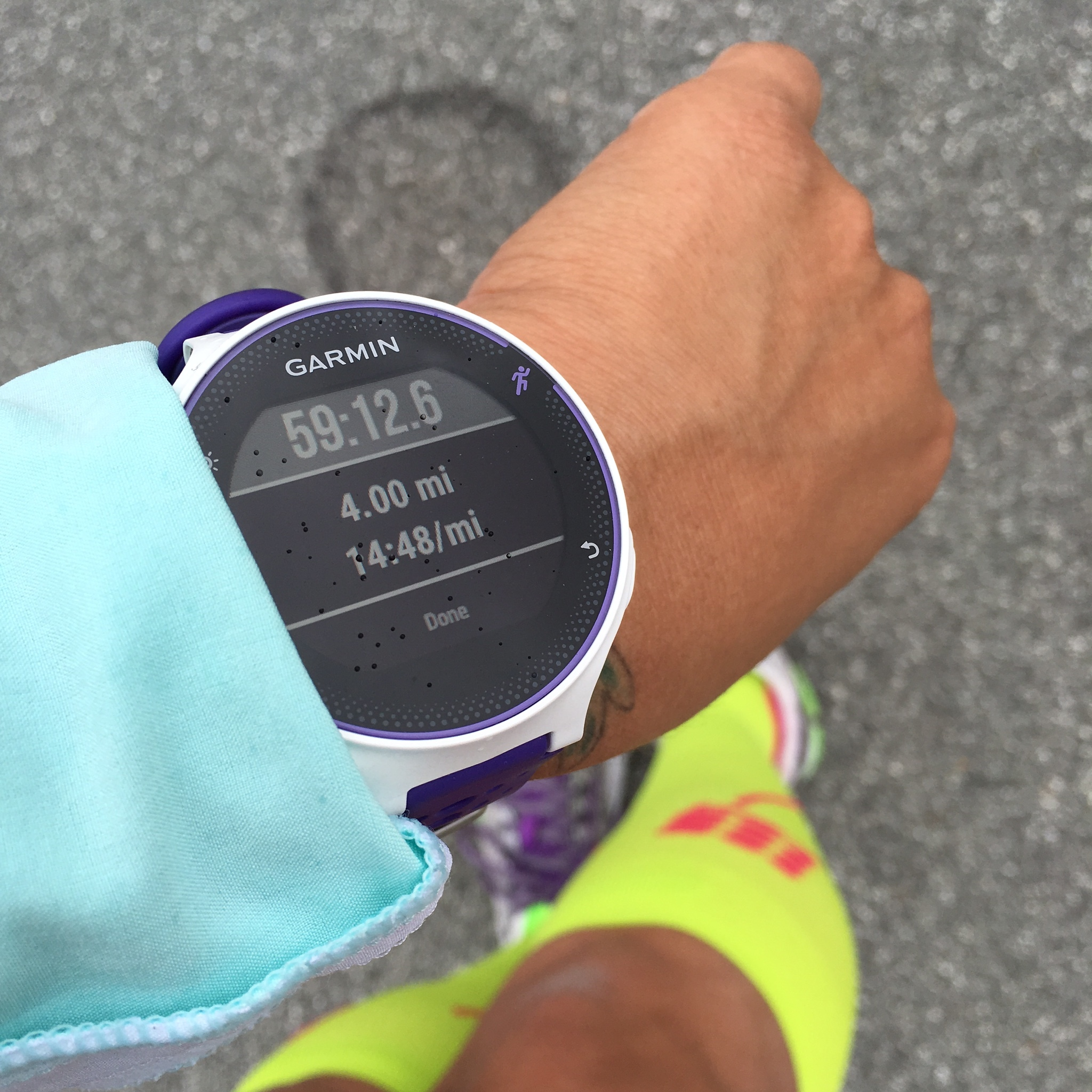 slow and steady #BeatYesterday