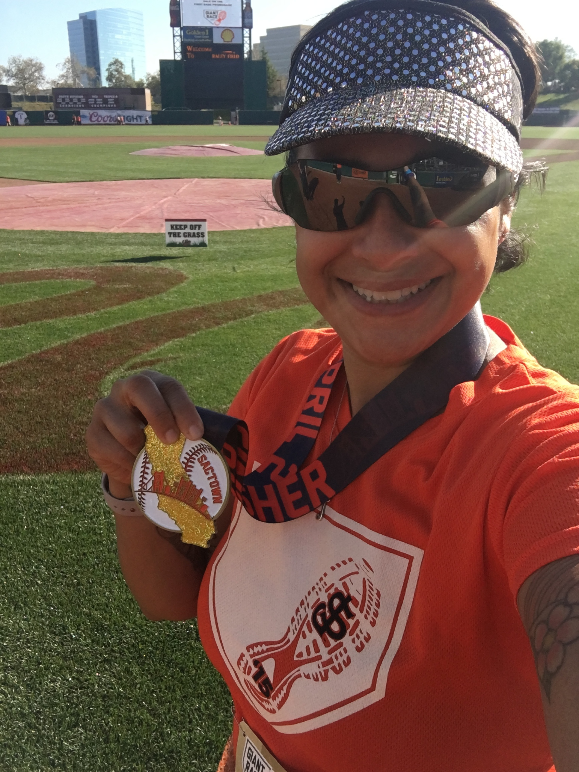 SAC Giant Race Finisher Medal