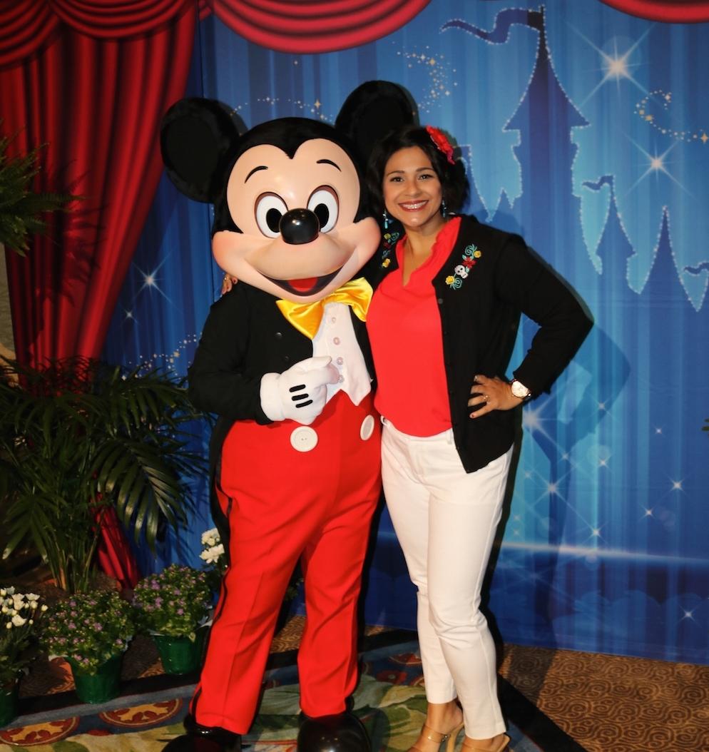 Mickey & I (DisneyBound as Princess Elena of Avalor)