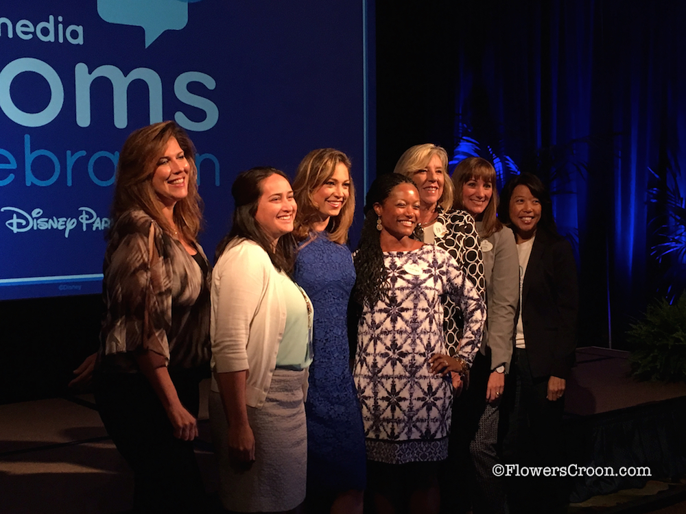 The Disney team with Ginger Zee