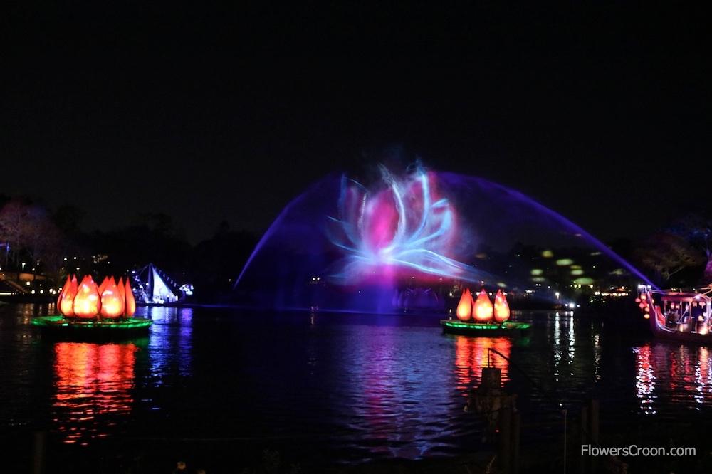 My favorite water screen graphic - the lotus.