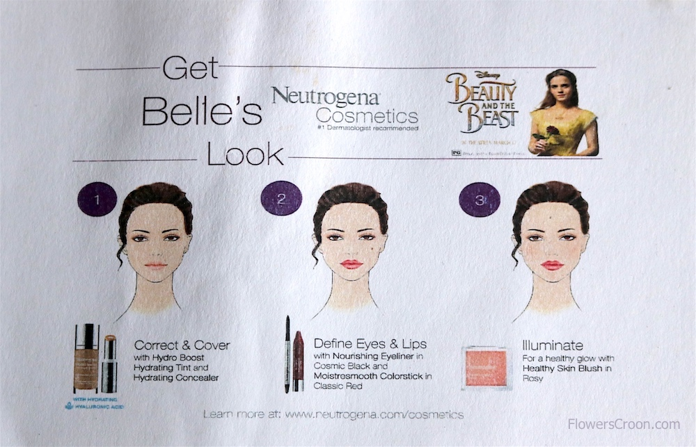 Get Belles Look Neutrogena Cosmetics DisneySMMC