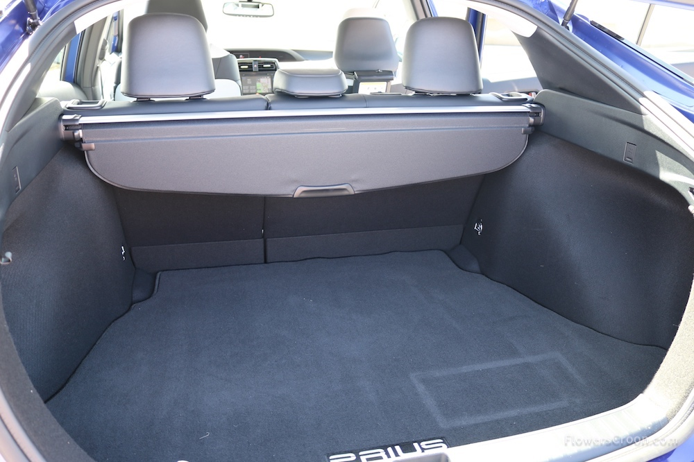 Nice big trunk for travel!