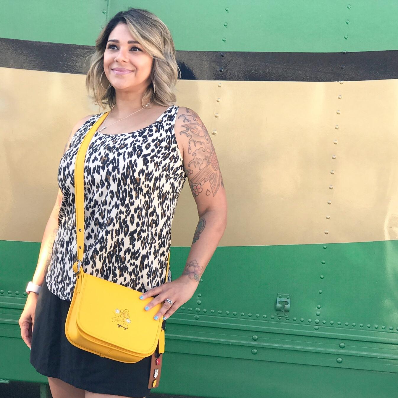 Disney X Coach Handbag