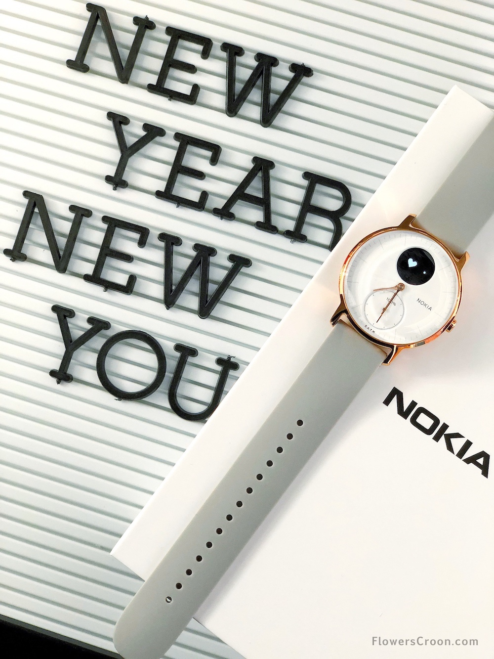 New year, new you with the Nokia Steel HR Activity Tracker