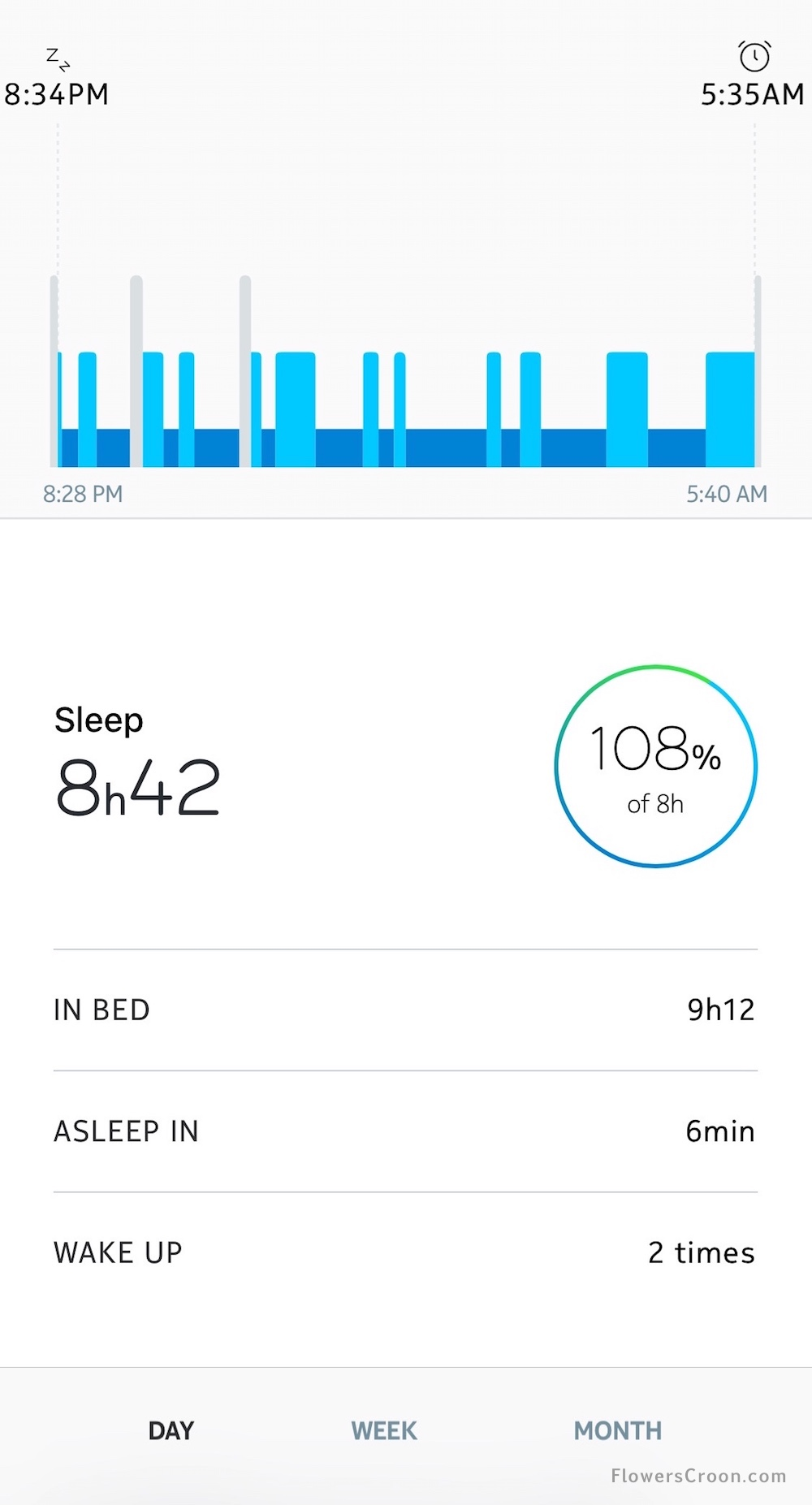 Health Mate and Nokia Steel HR work together to track my sleep