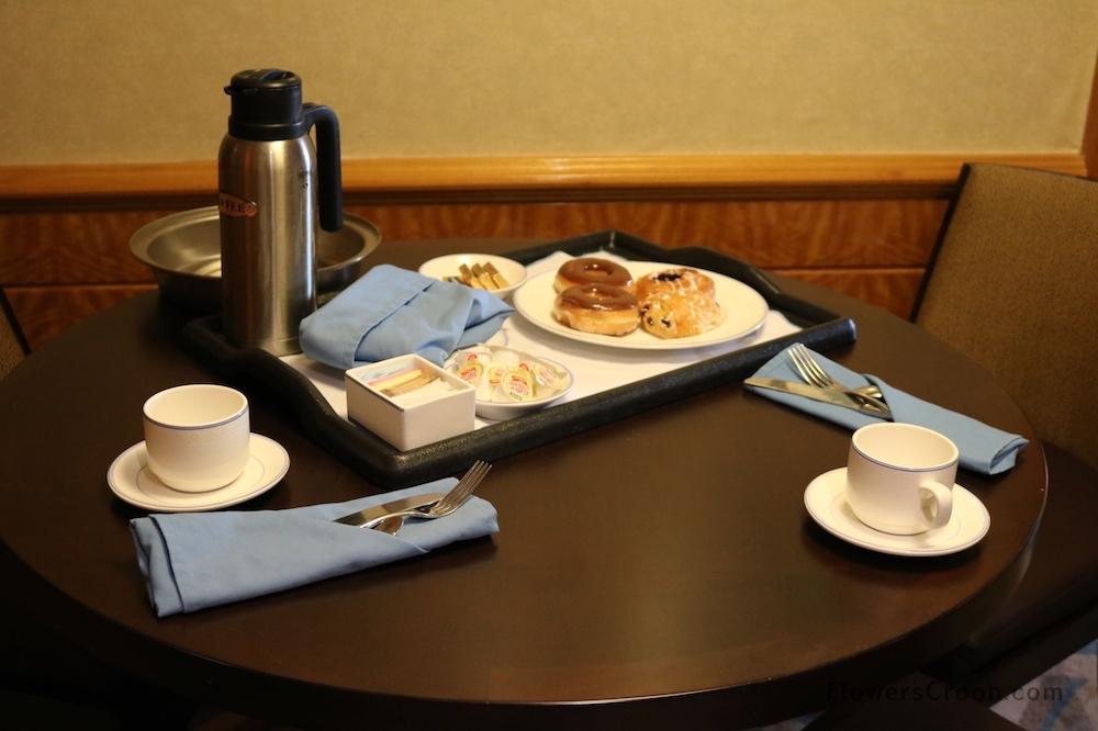 Disney Wonder Concierge Suite Naughty Breakfast