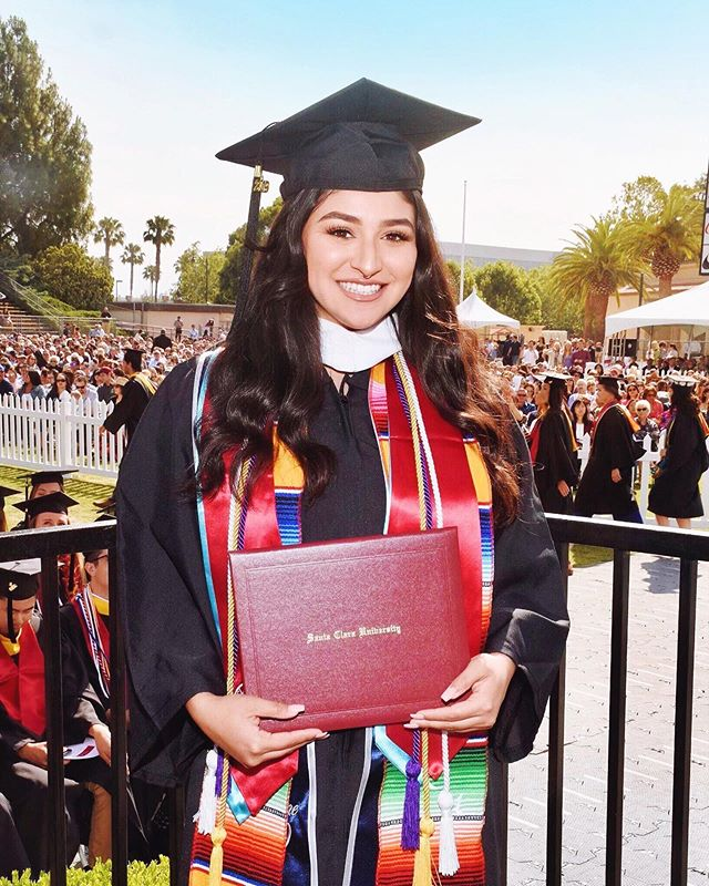 She did it! Philosophy major with minors in Political Science & Spanish. We are so proud of her & so thankful to all the friends and family that celebrated with us. More photos to come! #SCUGrad #Classof2019 @santaclarauniversity . . . . . . . #california #santaclara #scu #santaclarauniversity #highereducation #politicalscience #philosophymajor #futurelawyers #latinx #latinxgrads #latinxgrad #wonderlanddiaries #puertoriqueña #mexicana #proud #goals #hardwork #dreambig #firstgen #believe #believeinyourself #gradutionday #futurejudge #education #knowledgeispower #determination #graduation #scubroncos