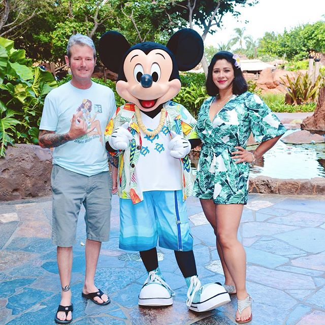 May & June were super busy w/travel, events, holidays, graduation, birthdays & school. I still have 2 final exams & 2 final papers due this week before I can breathe again. I promise I'll answer text messages and return calls & emails after June 28! In the meantime - I'm going to pretend I'm back at Aulani with these two baes. #TravelTuesday #Aloha @disneyaulani . . . . . . . #aulani #aulaniresort #aulanidisneyresort #disneyaulani #wonderlanddiaries #disneyfamilia #disneylatina #disneygal #disneystyle #estilodisney #familytravel #travelcouples #viajera #gohawaii #hawaii #honolulu #oahu #koolina #mickeymouse #mickey #mickey90 #disneysmc #mydisneylife #disneylatinamom #disneybounding #vinyagestyle #tikistyle #tikilife