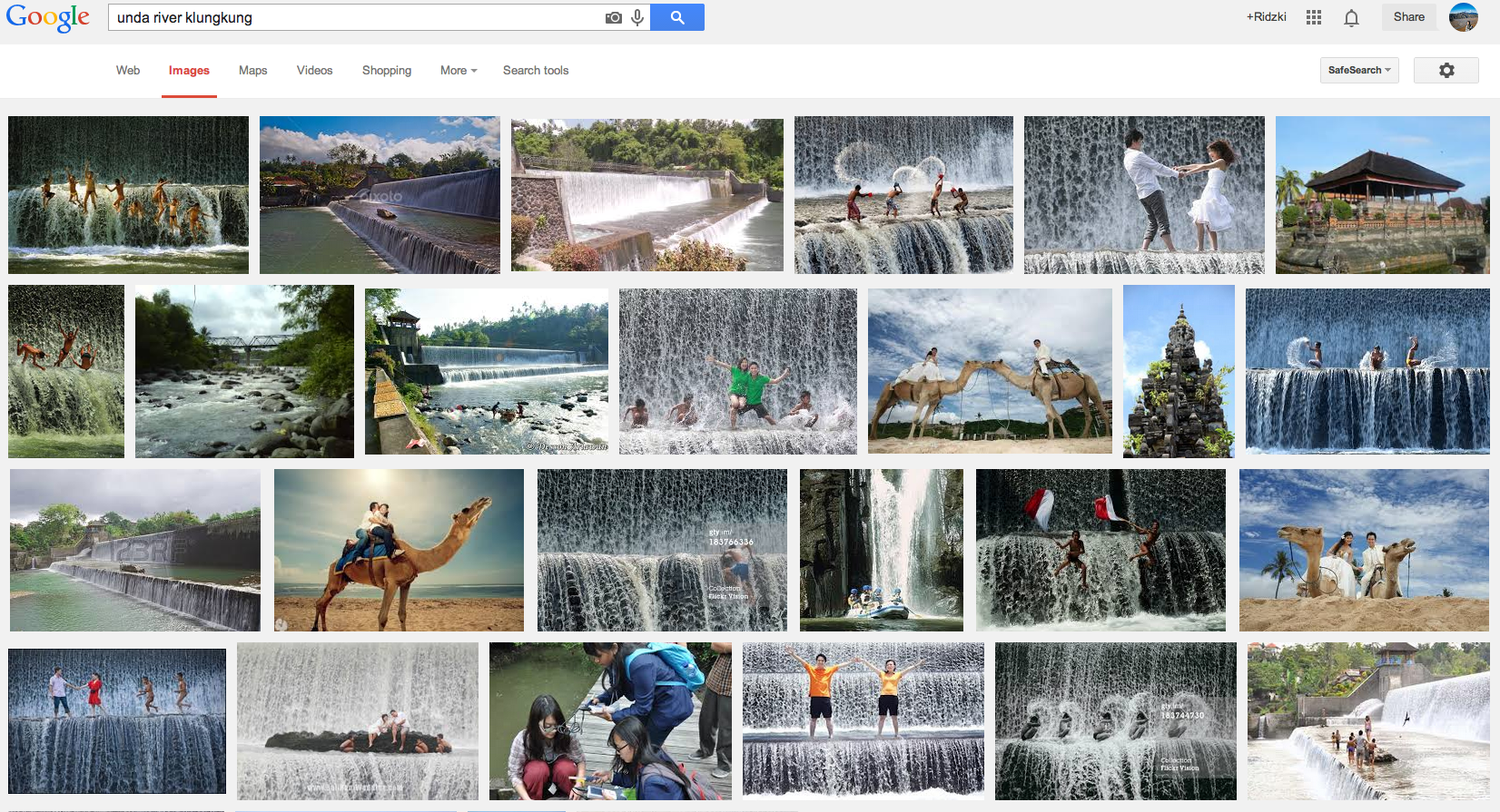 Google Image Search Results for Unda River Klungkung