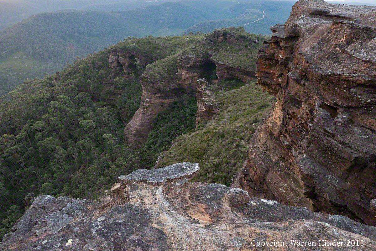 Mount Banks Looking West