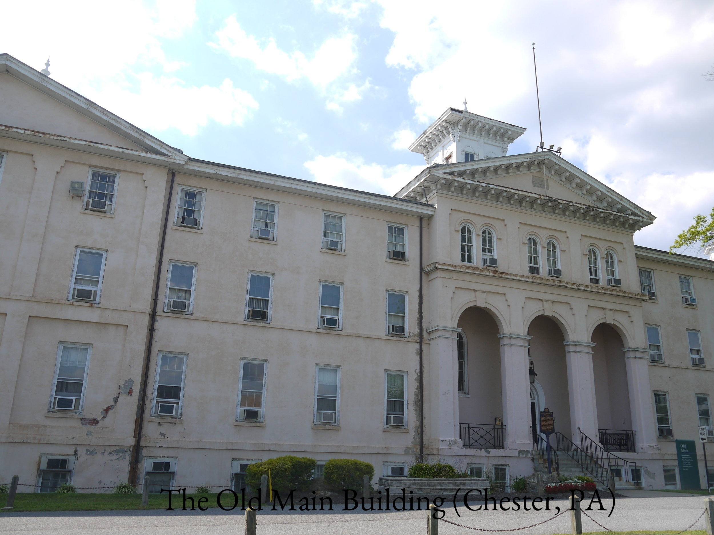 ALTERNATE EPILOGUE. Old Main. August 2014. Photo taken by author..JPG