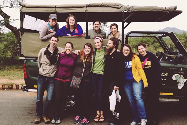 Team Africa on safari!