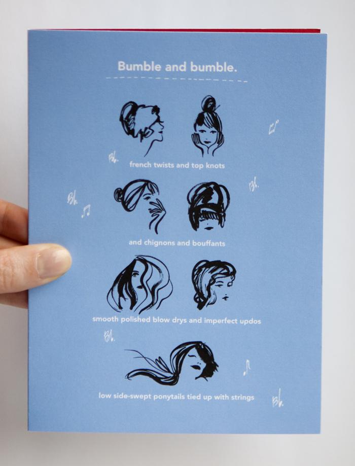Bumble and bumble. / Xmas Card