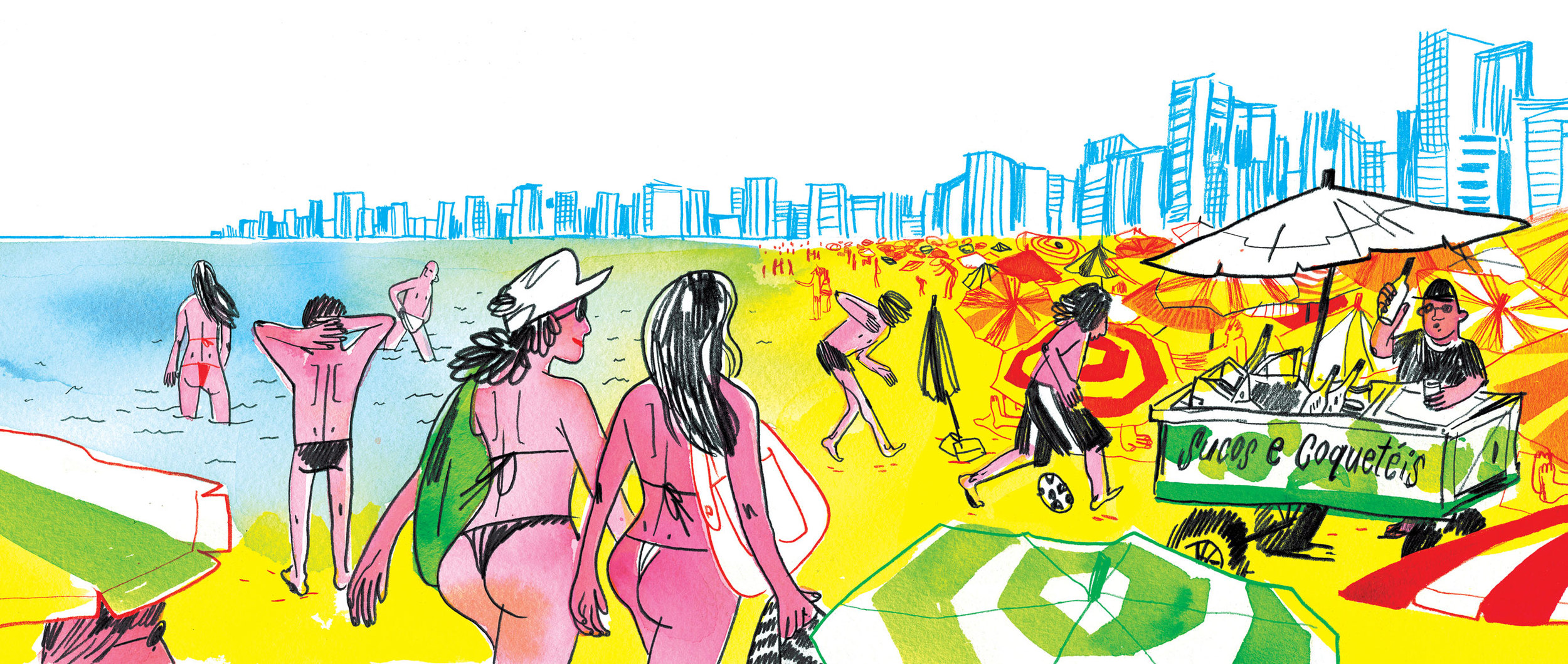 GQ Magazine / AD Chelsea Cardinal  Selected for American Illustration 32
