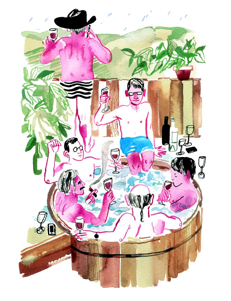 San Francisco Magazine / AD Margaret Swart,O Banquinho