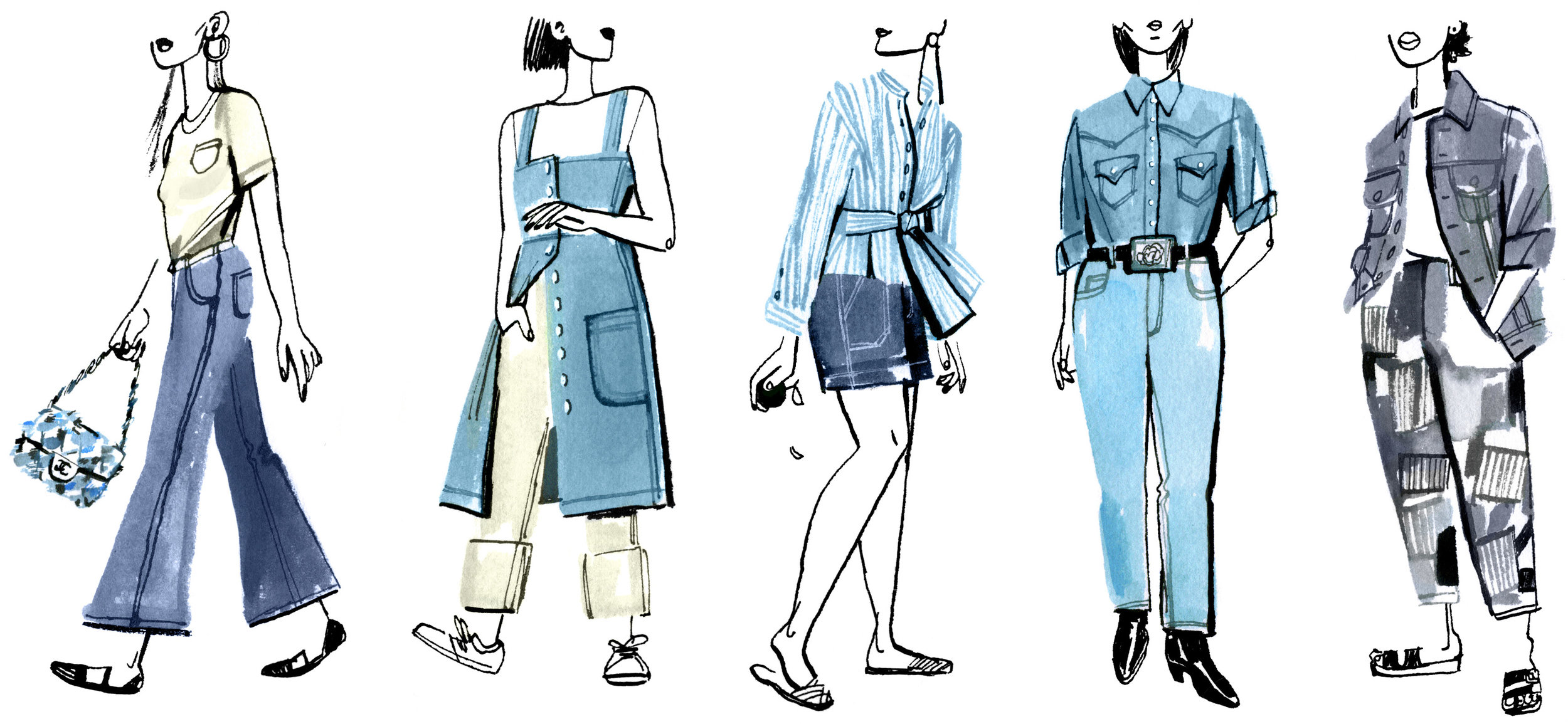 An Obsessive A-Z Guide to Spring's Best Women's Denim