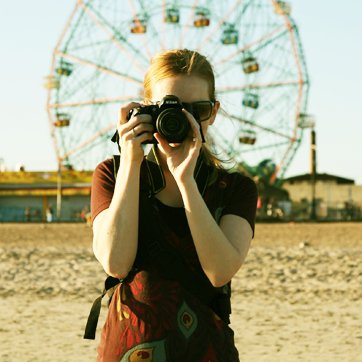 Me in magical Coney Island, NY.