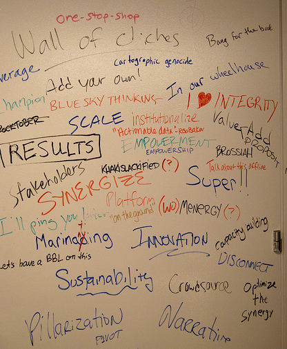Wall of Cliches OpenGov Hub