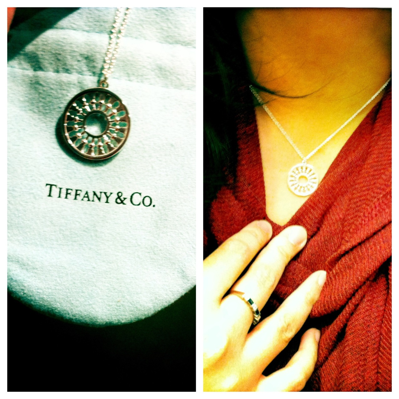 That's right. A necklace from Tiffany & Co. Thanks, Hubs!