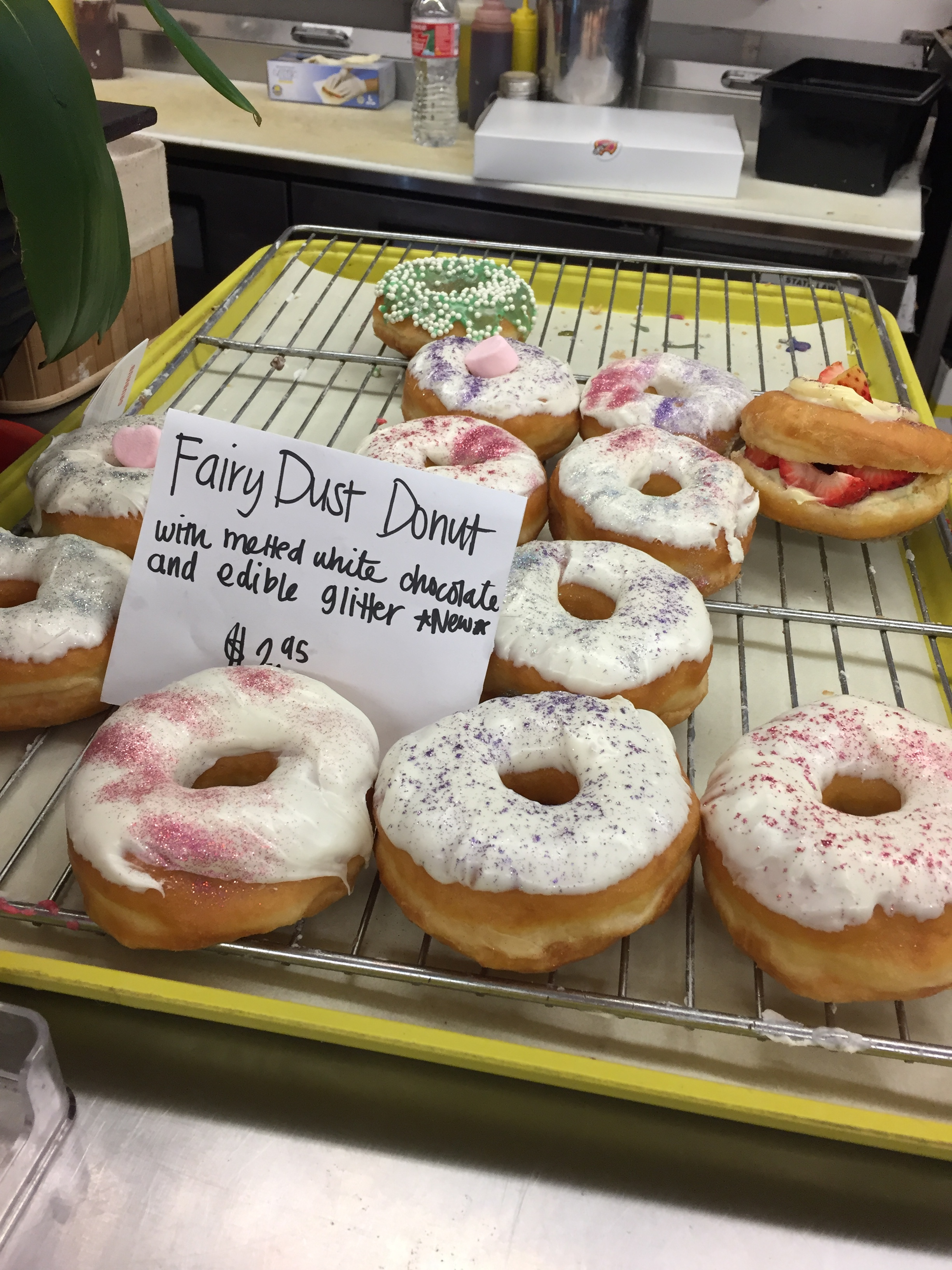 They also have fairy dust donuts.