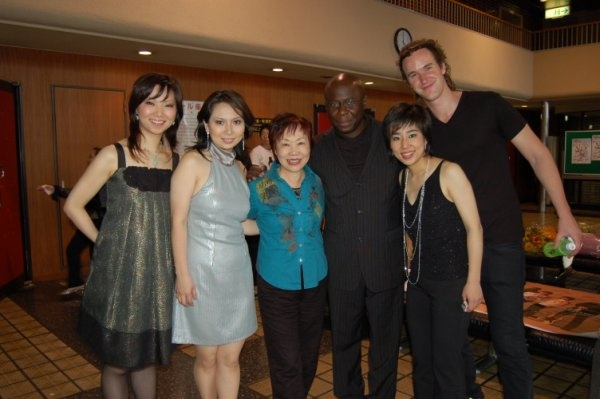 with Pan Asian Chamber Jazz Ensemble in Japan