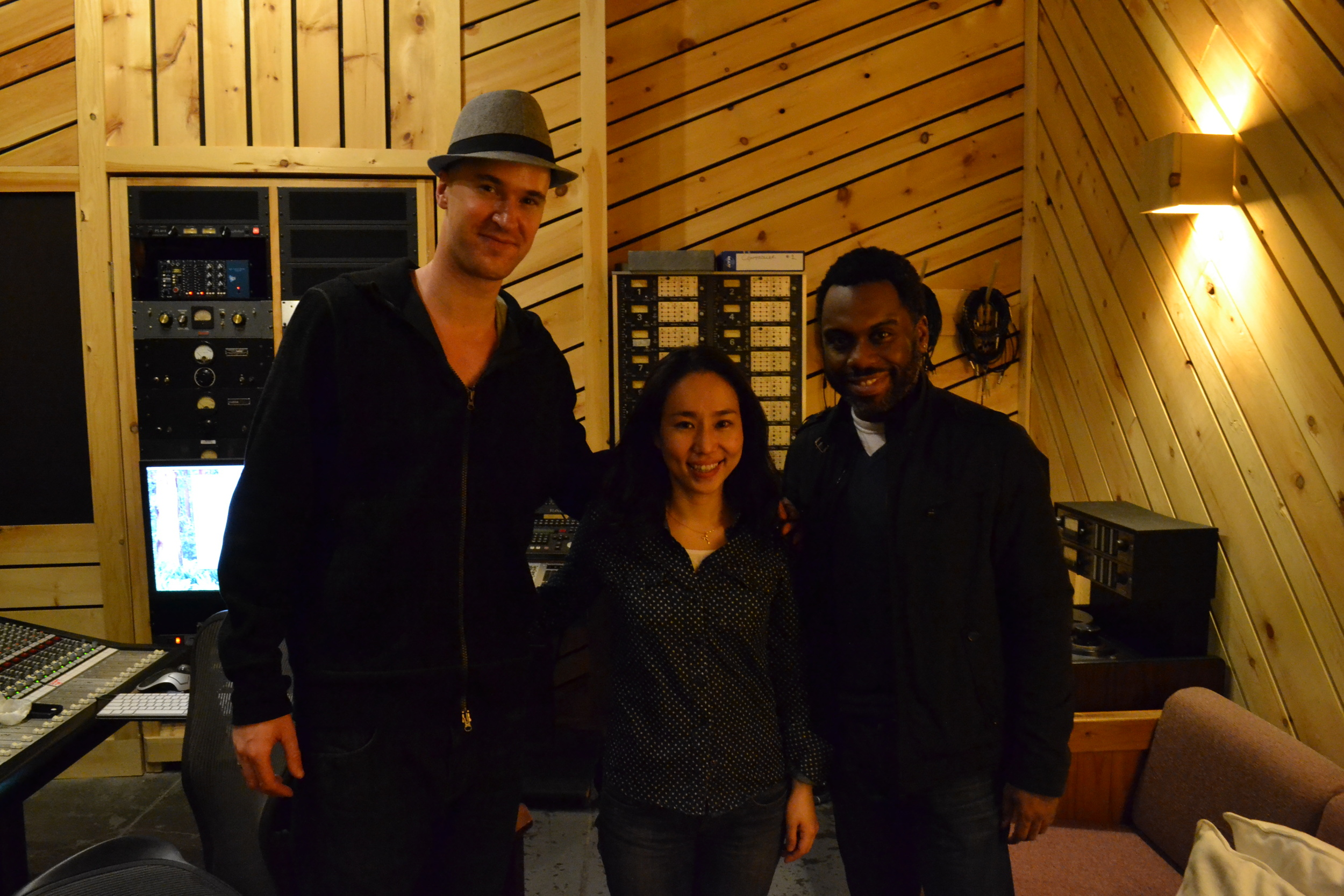 Trio recording with Malcolm Kirby Jr. & Nate Smith