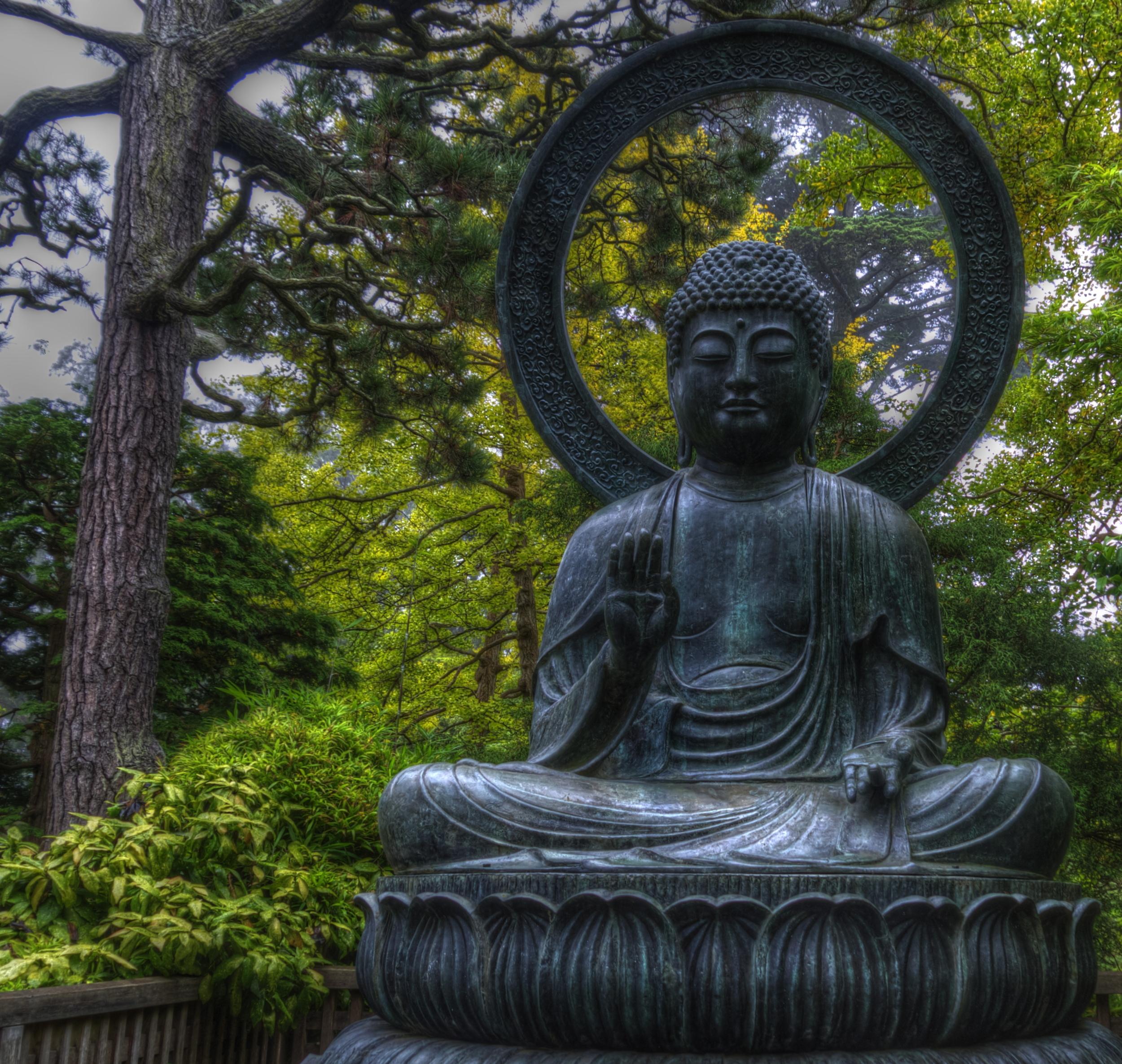 Buddha in the Japanese Tea Garden - September 2012