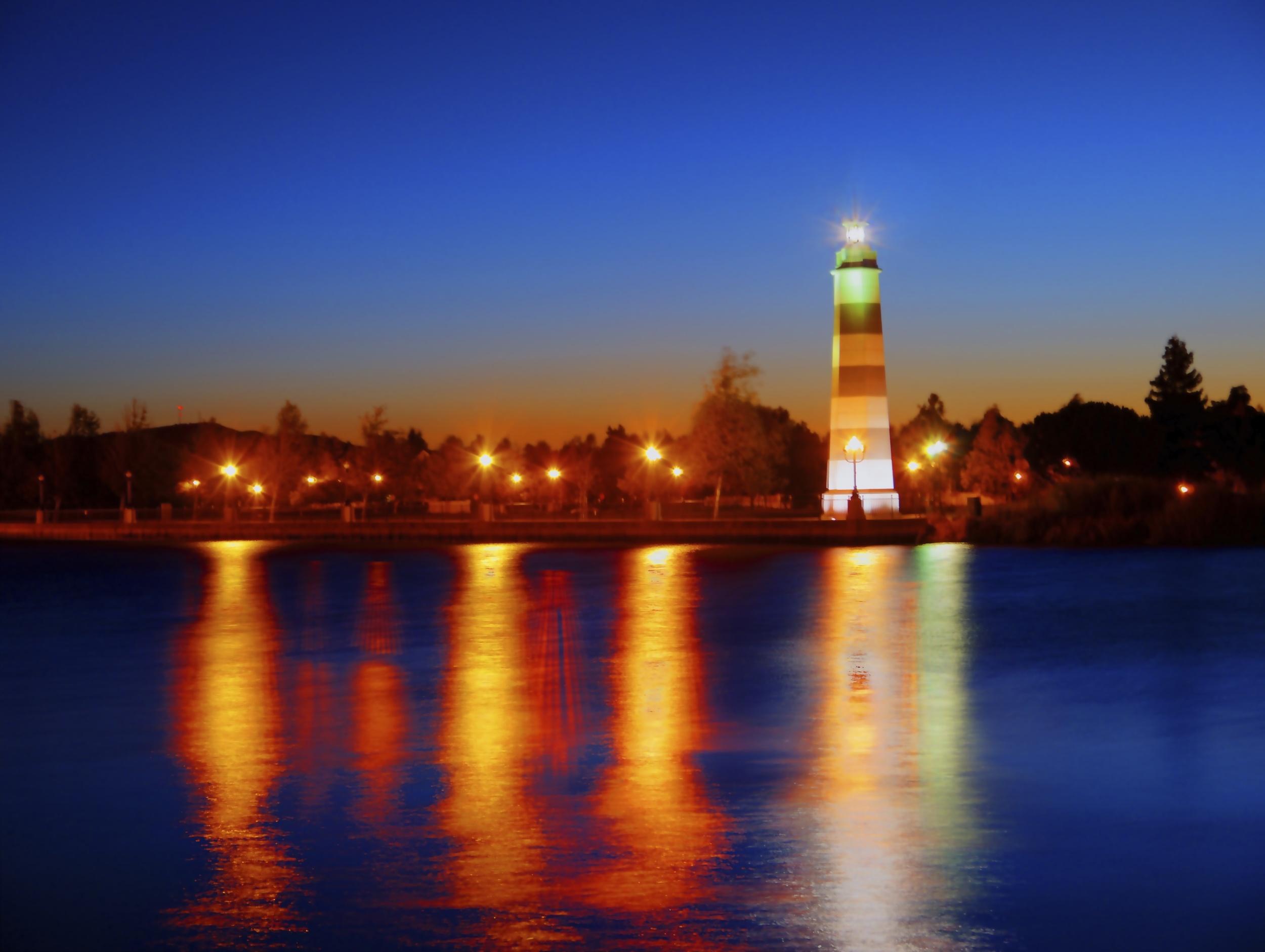 Suisun Lighthouse at Dawn