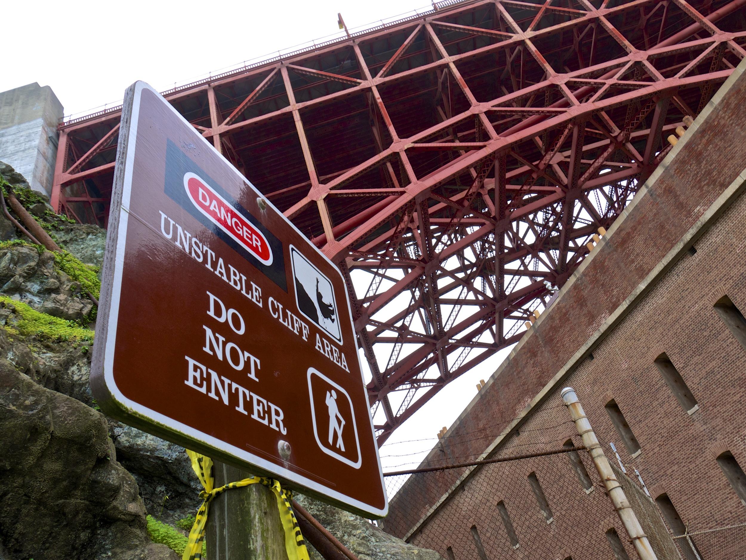 Fort Point Under The Bridge