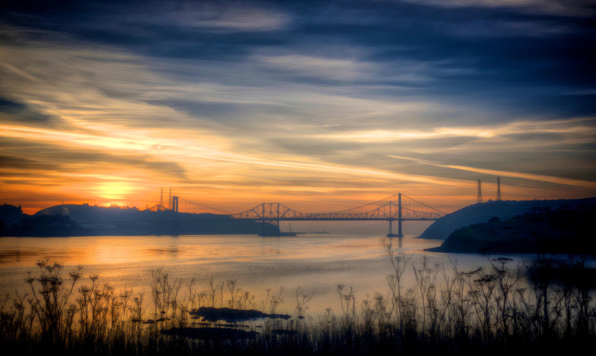 Carquinez Bridge Sunset