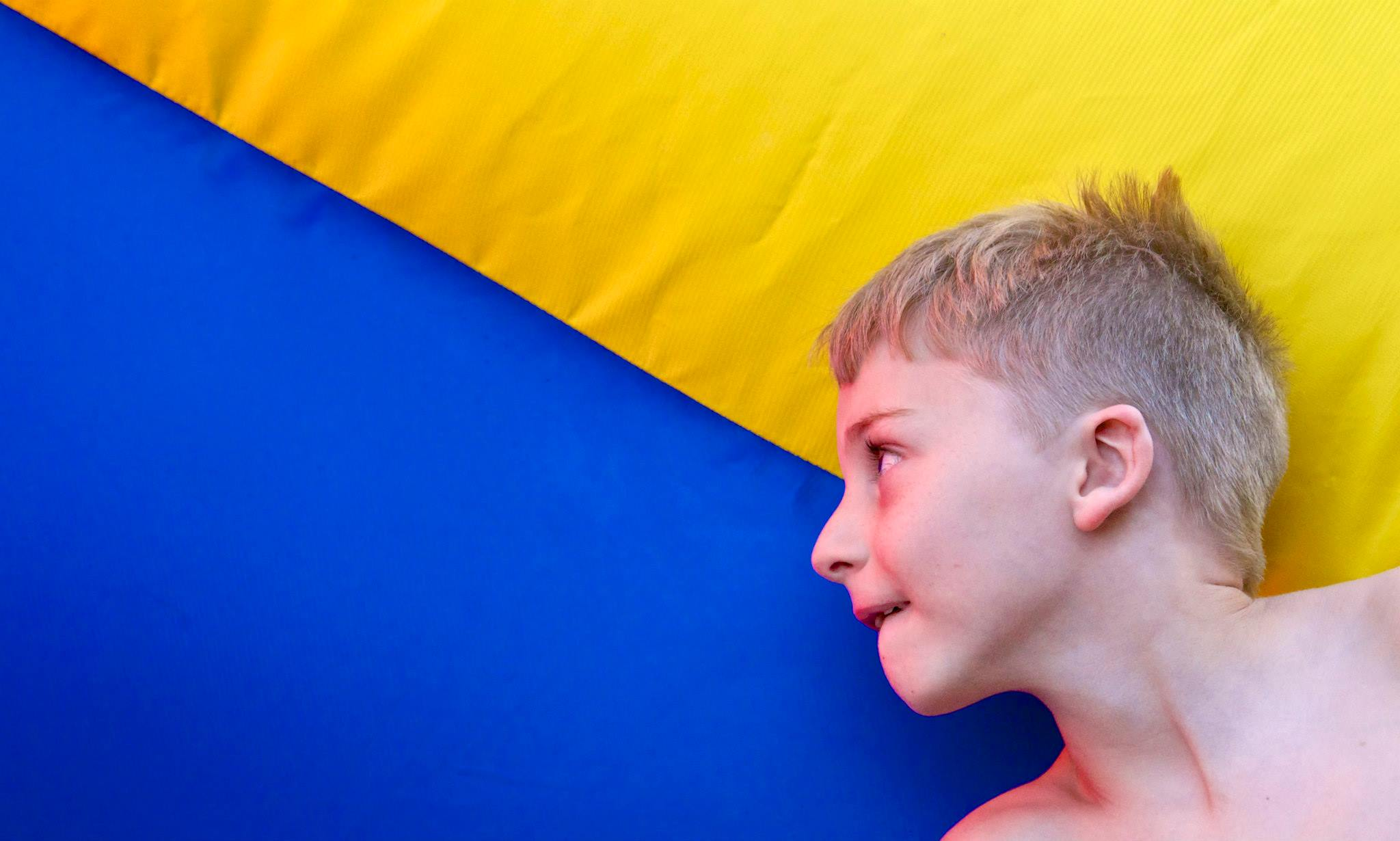 Jacob with Blue & Yellow