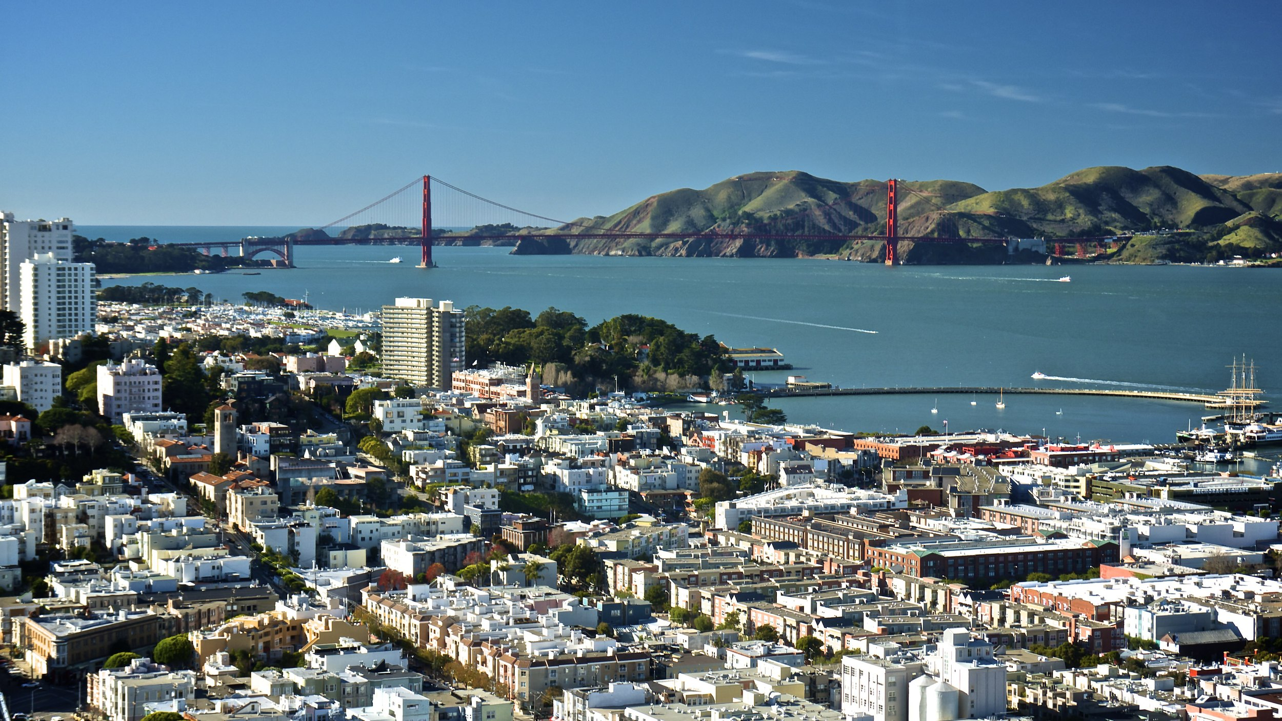 Golden Gate from Coit Tower