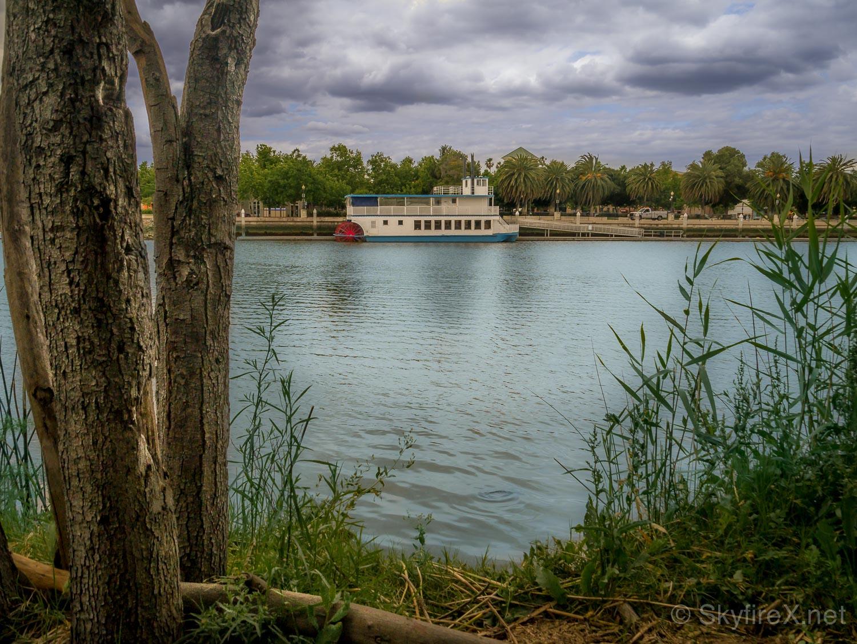 The Matthew McKinley riverboat.