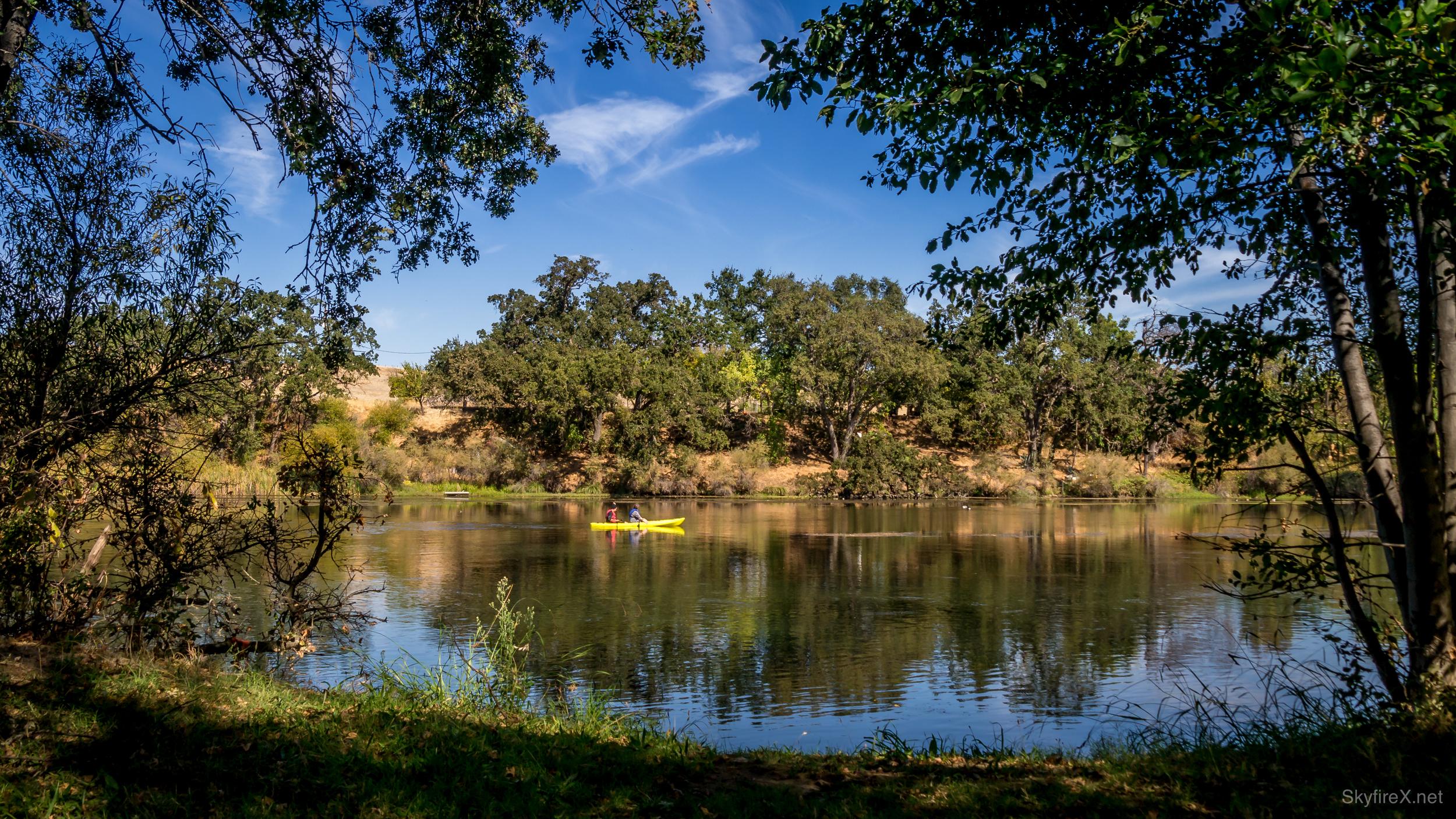 Lake Solano Framed