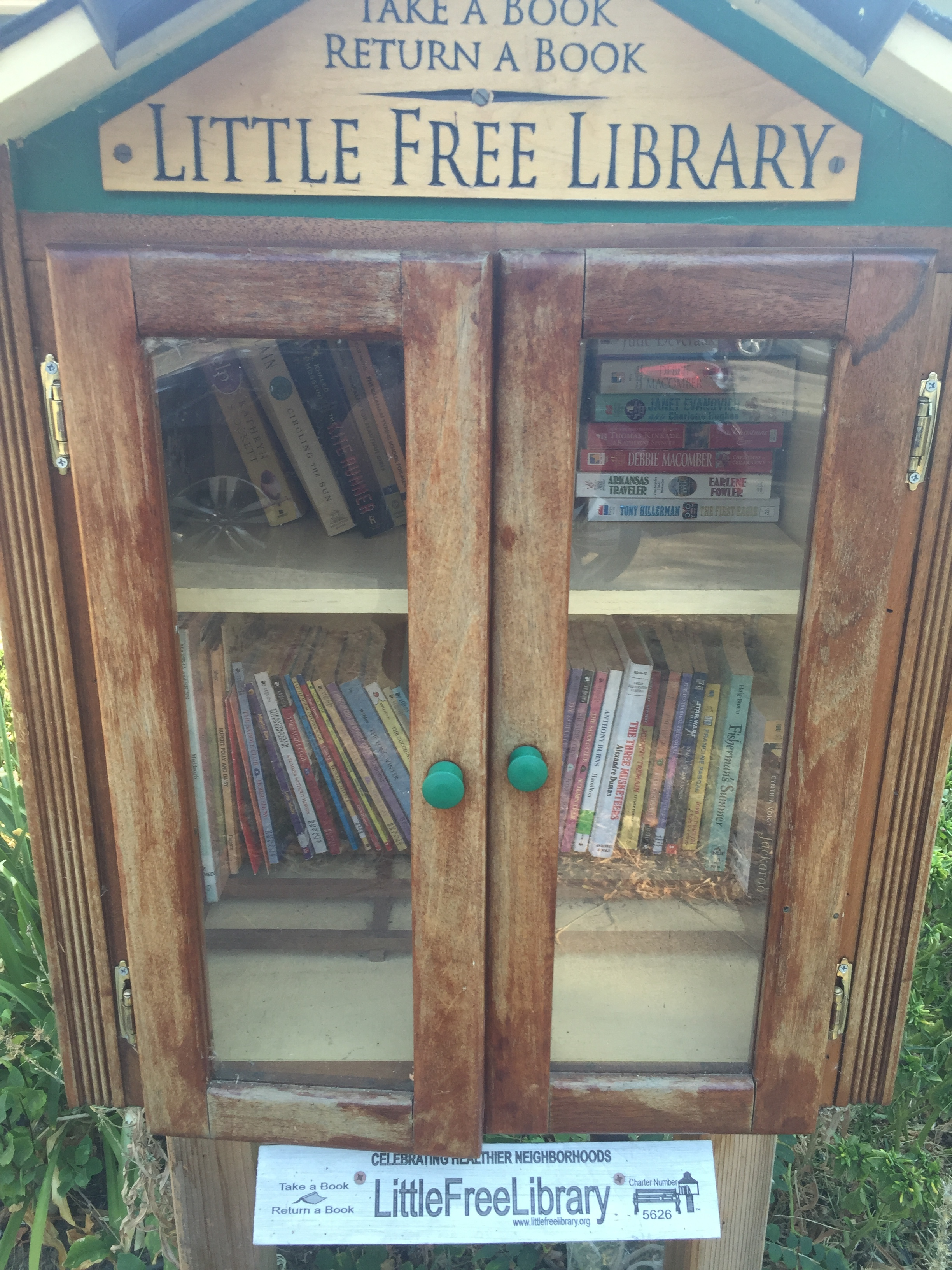 Little Free Library on Delaware St Fairfield, CA