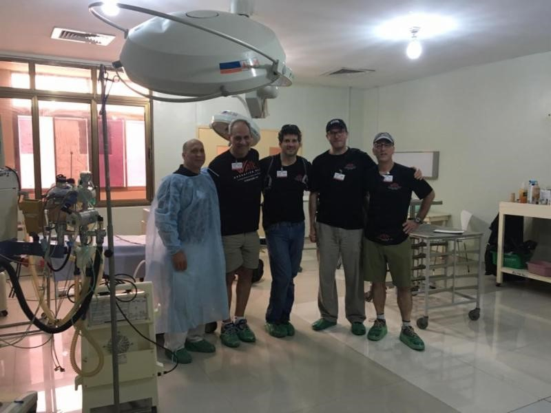 One of our amazing surgical teams!