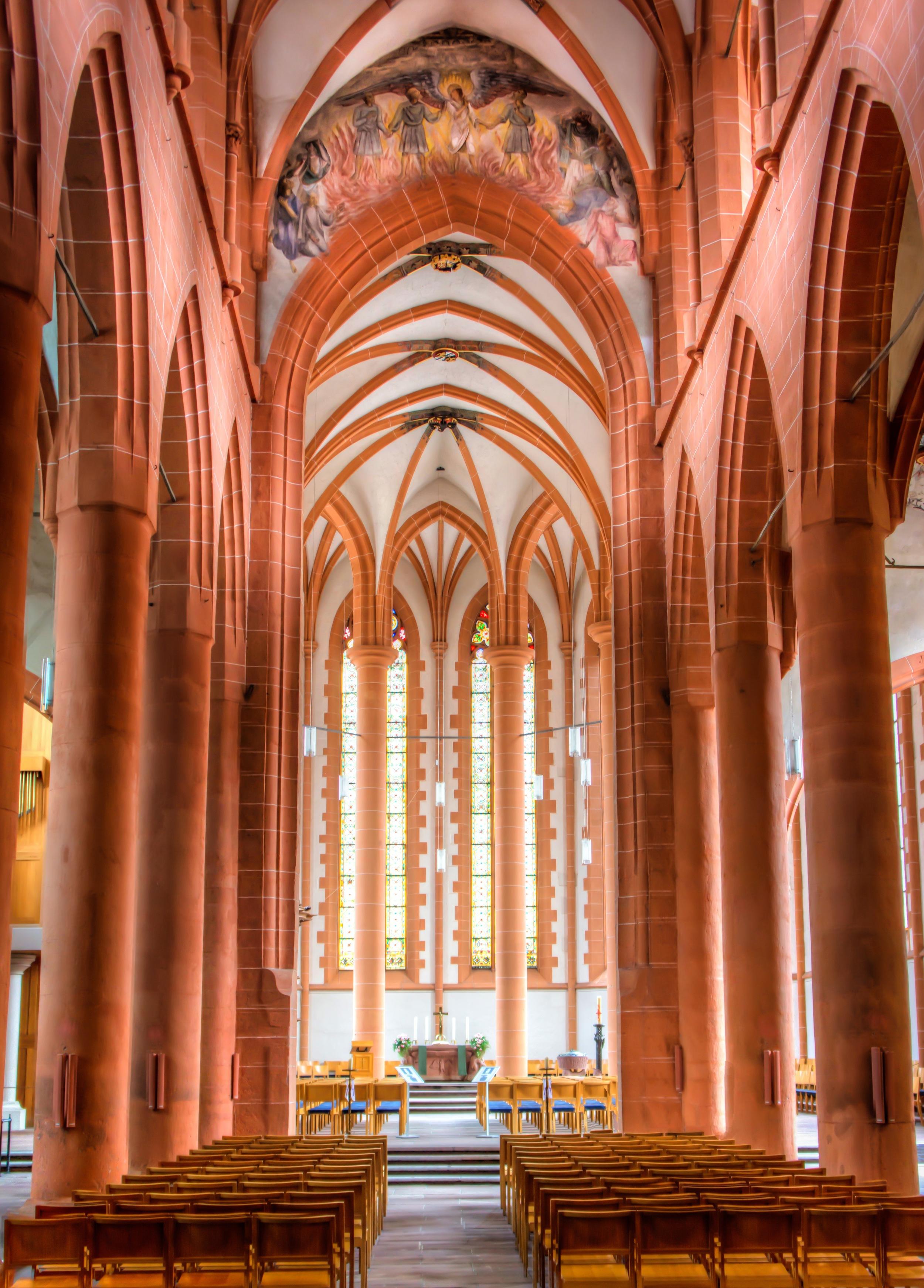 A church in Heidelberg, German