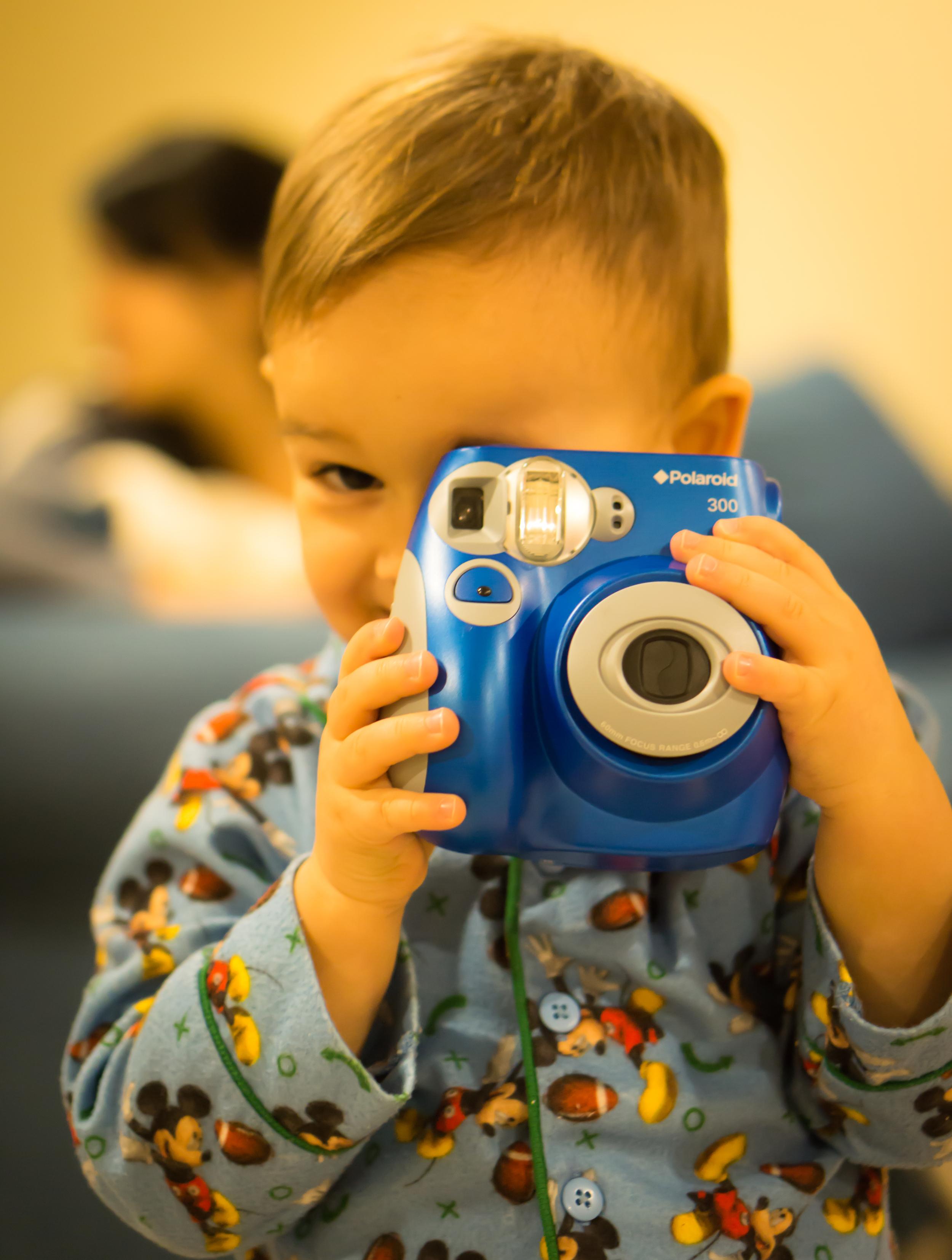 My son the photog.