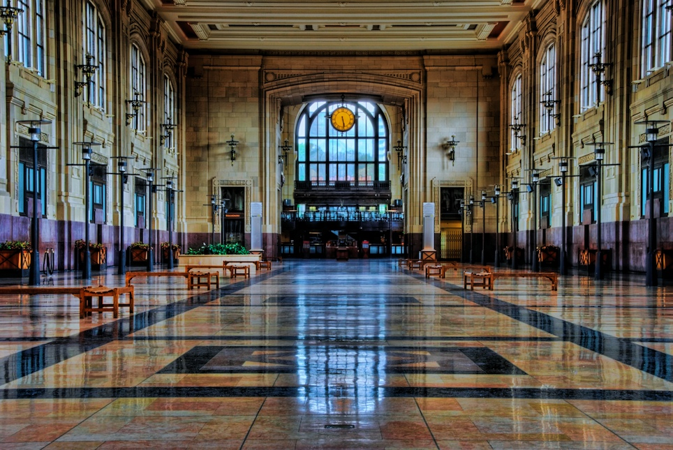 KC Union Station hallway clock HDR - Version 2.jpg