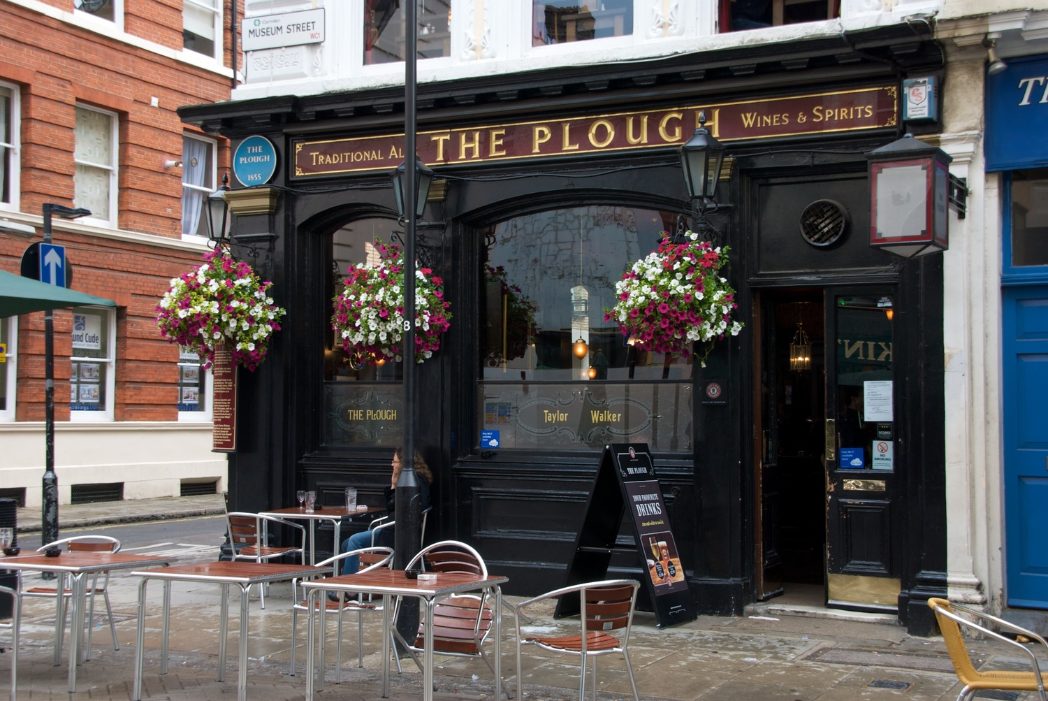 The Plough, one of many such pubs that you find all over London.