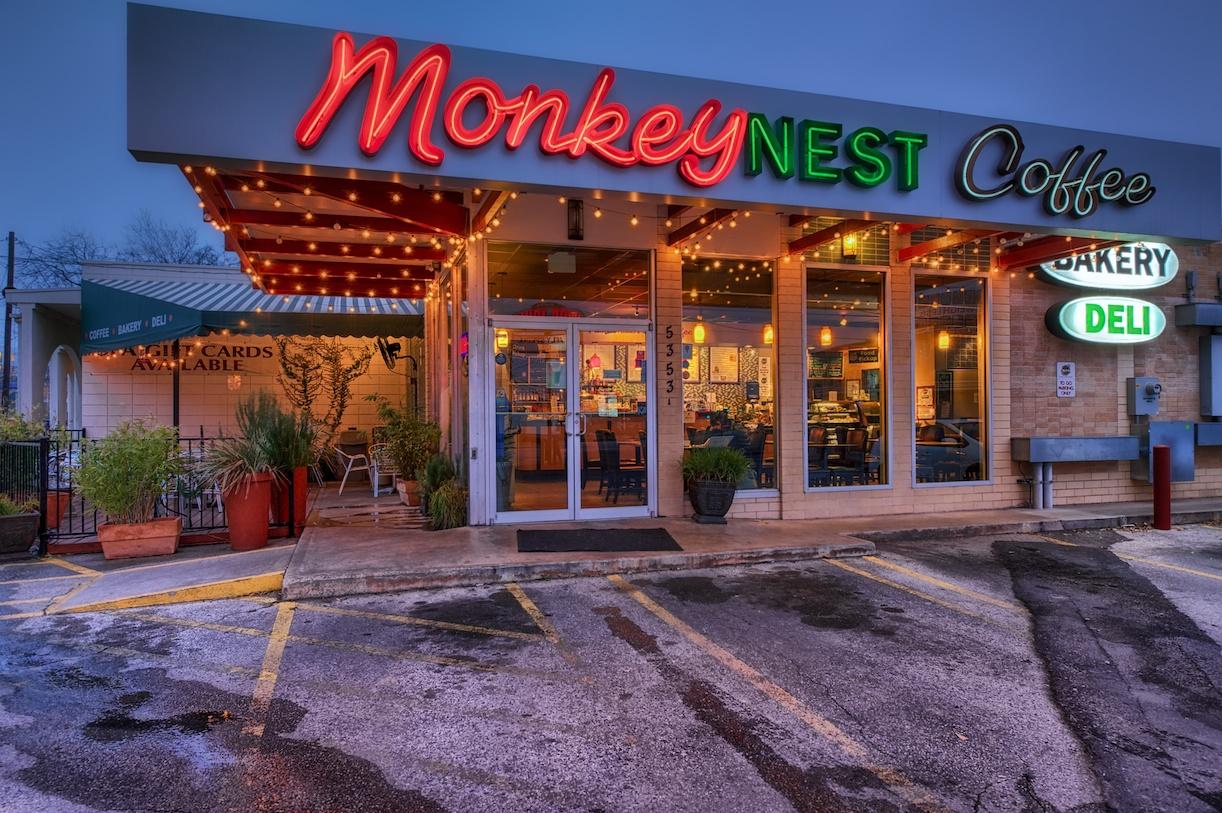 Monkey Nest Coffee - I prefer tea myself, but still enjoy visiting this place. Great little spot!