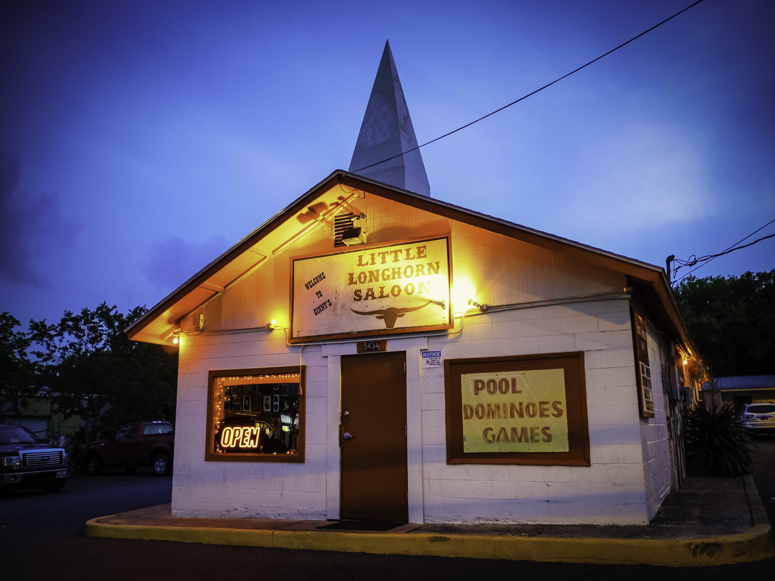 The Little Longhorn Saloon has been on Burnet Road for as long as I can remember. I've never been inside.