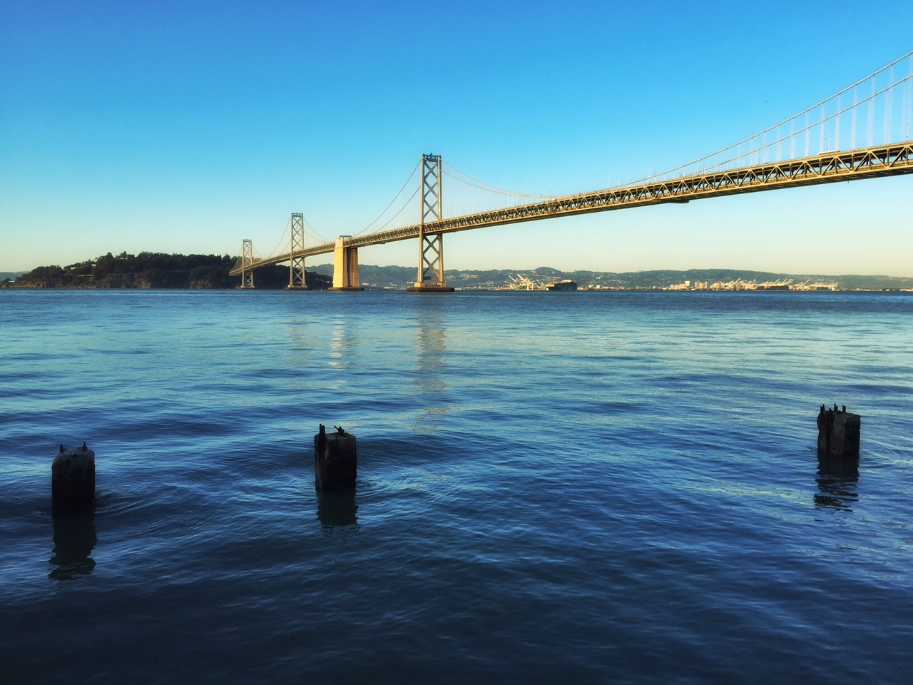 This is the Bay Bridge, which I love to shoot!
