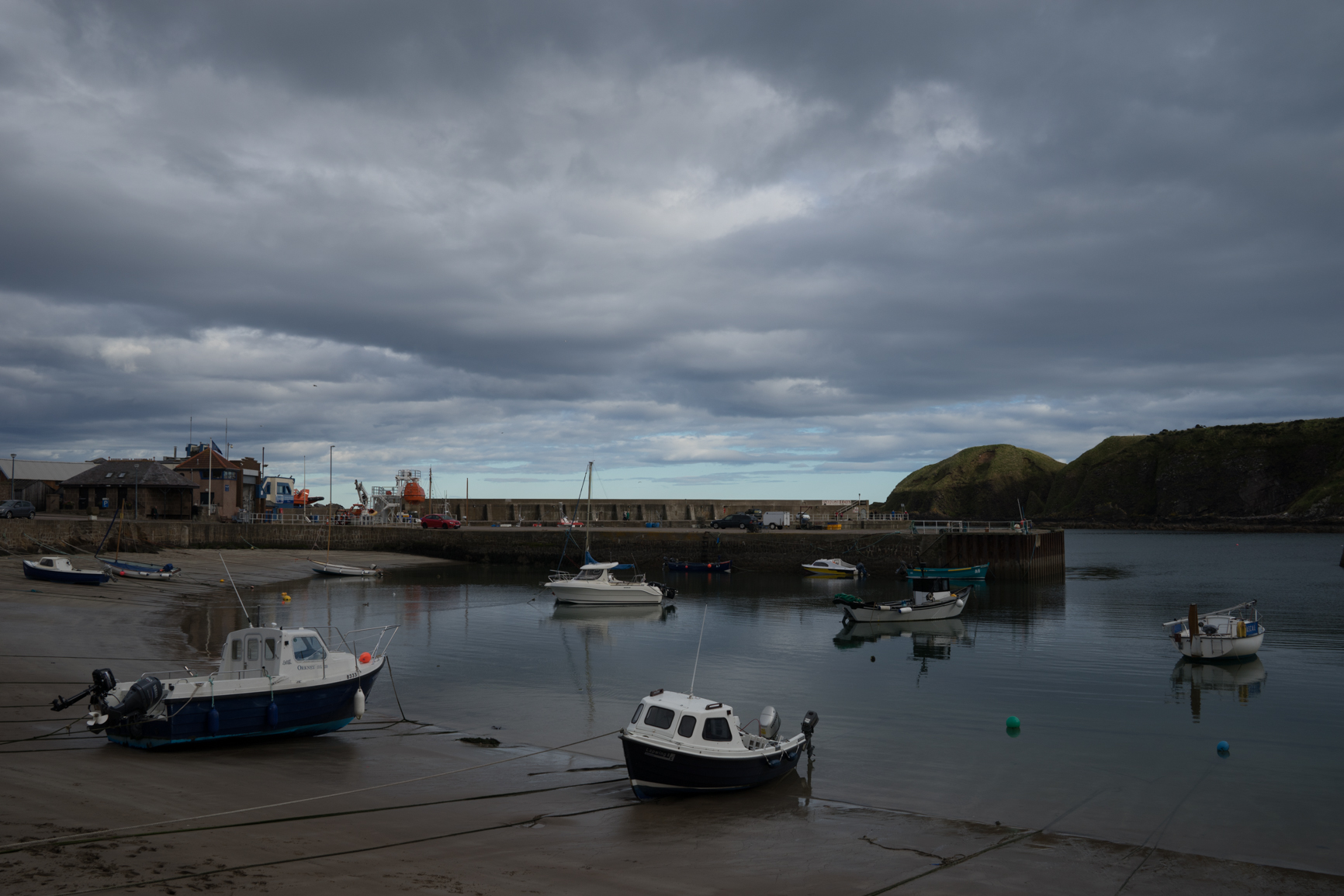 Stonehaven, Scotland - straight out of camera, before I make my adjustments