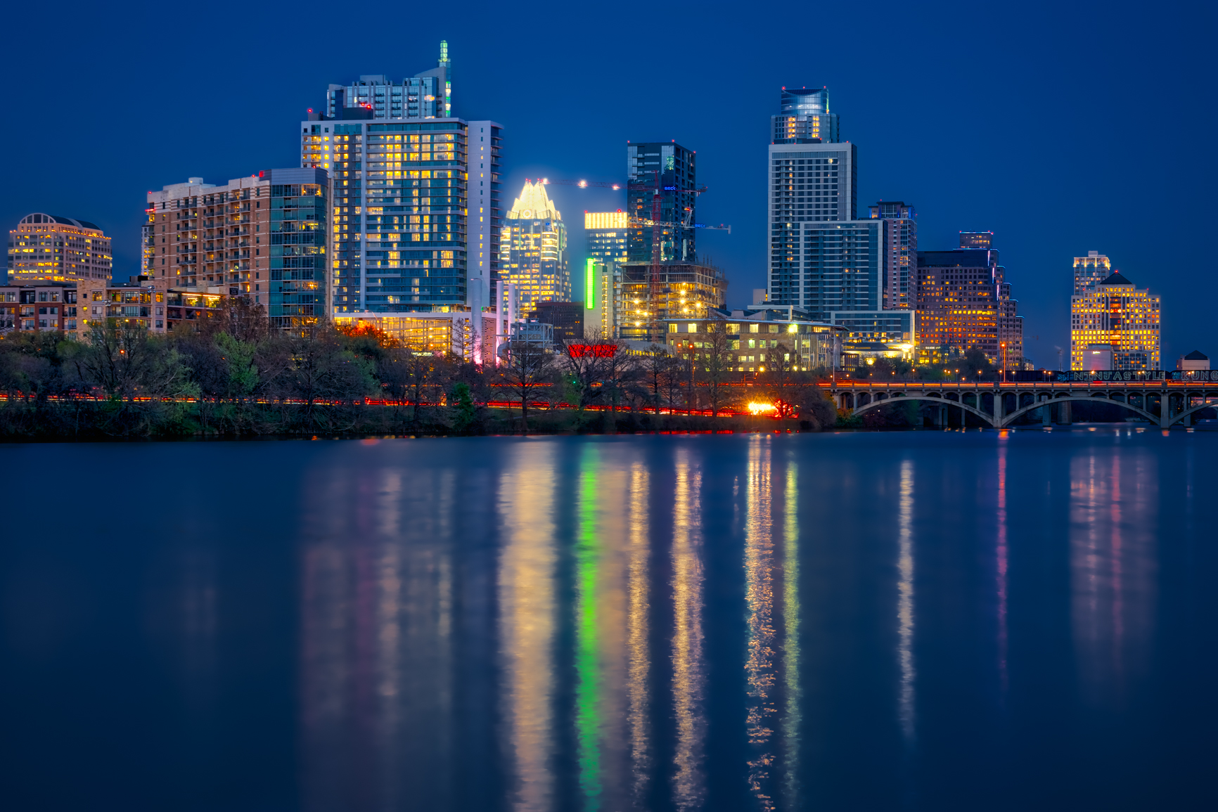 3 exposure HDR, f/9, tripod, ISO 100, 70mm -- Austin, Texas